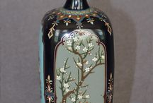Cloisonne and enamels