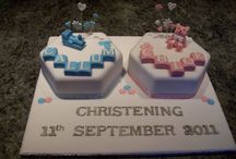 Baptism cakes / For The babies!!!