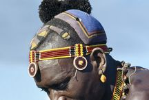 Turkana Tribe / The second largest pasotral tribe in Kenya, the Turkana are nomadic (move from place to place). They live in northern Kenya around Lake Turkana. In 1975 the lake was named after the them.