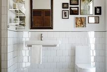 Beautiful Small Bathrooms / https://katedwellinstyle.wordpress.com/