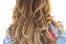 Hair / Board based on my own hair pins from haircuts to balayage and ombré. You can read more on my salon visits at theconfessionsofanonlineshopaholic.com!