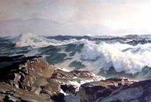tájkép, tenger