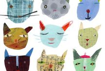 Animal art 2D - 2 / by Sonja J