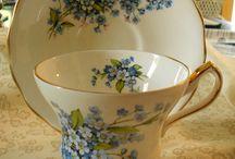 tea cups / by Mary Sansom