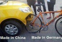 China car, Germany bike