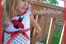 crocheted kids clothes
