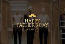 Father's Day Shop Window Decals