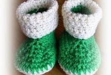 groene slofjes