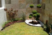 Jardin,piscina y exteriores