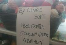 aanbieding By Claire Soft Mix / by claire soft mix , zo lang de voorraad strekt , 5 halen ~ 4 betalen