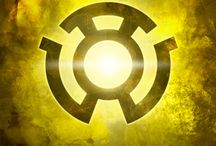 Sinestro Corps / In blackest day, in brightest night, beware your fears made into light. Let those who try to stop what's right, burn like my power: Sinestro's might!