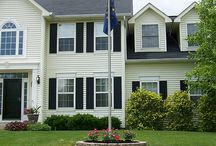 Flag planter / Flag pole for the front of the house