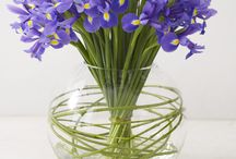 Event flowers - blue theme