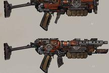 Weapon design: Postapo