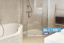 JVE Way Badkamer / Een badkamer speciaal gecreëerd op de wensen van ons klanten. Een warme badkamer met een vriendelijke uitstraling.