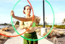 Hooping: double hoops / Two hoops, why not? Great videos and fun inspiration.