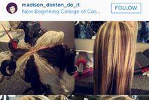 Haarfarben Techniken