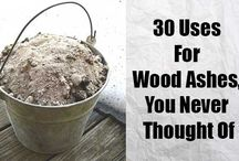 ashes from firewood uses