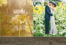 Sunflowers' wedding