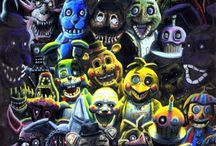 Five Nights at Freddy's / Pins about FNaF, images etc.