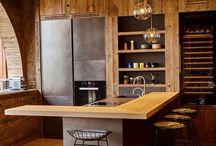 dom w górach kuchnia