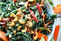 Kale Salads / Kale salads: tons of healthy kale salad recipes pinned by Loveleaf Co. Mostly gluten free and vegan.