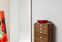 Naver Collection - Mirrors / Our series of mirrors express minimalistic simplicity, purity and tranquility. The characterful mirrors have tapped corners, which shows our thorough and complete approach to the details in our craftmanship.
