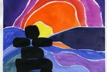 Ted Harrison art