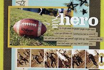 Scrapbooking - Sports / Scrapbook ideas for all those fun sports and activities! / by Spotted Canary