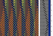 Tissage couleurs dégradées
