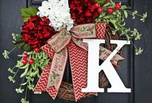 Personal Christmas wreaths