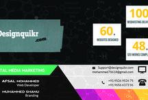Like to create website / We are website designers in kerala