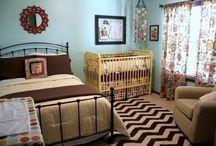Master bedroom plus nursery