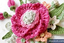 Crochet Flower Patterns / Crochet Flower Patterns on the web