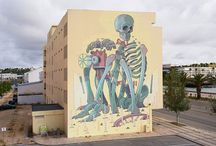 umenie na stenách