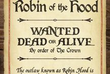 """Robin Hood / """"Underneath this little stone Lies Robert Earl of Huntington; No other archer was so good - And people called him Robin Hood. Such outlaws as he and his men Will England never see again.""""  ― Roger Lancelyn Green - / by Nevenka"""