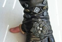 Fantasy gauntlets and cuffs