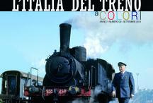 """L'Italia del Treno - a Colori / """"Addii, fischi nel buio, cenni di tosse e sportelli abbassati. E' l'ora."""" Eugenio Montale"""