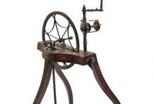 Antique Spinning Wheels