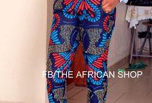afro panths