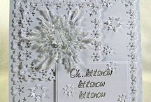 Snowflake cards I love / by Maureen