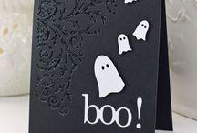 Halloween-kortit