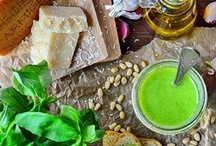 pesto/dips/sauces / by Marilyn McCabe