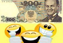 Donald Tusk banknot 200 tusków / mix i remix