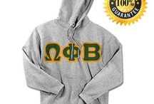 Omega Phi Beta / Something Greek meets all your needs for Omega Phi Beta. We have Omega Phi Beta recruitment shirts, bid day sweatshirts, Omega Phi Beta letter key chains, picture frames, screenprinting ideas, custom greek apparel for Omega Phi Beta, and much more!