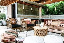 Outdoor Boho Styling