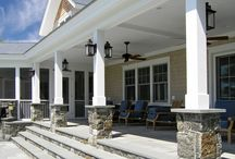 Pillars / Statement making pillars can really transform the approach to a home, boosting curb appeal and creating harmony among architectural elements.