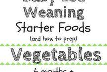 Baby led Weaning veggies