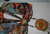 sciarpa bijoux