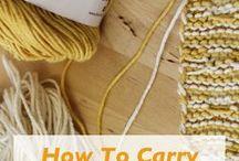 useful knitting tips
